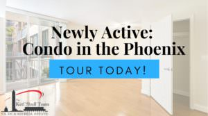 Newly Active: Studio Condo in the Phoenix