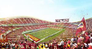 Virginia In Serious Negotiations For Redskins New Stadium