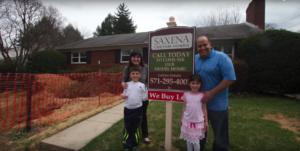 Keri Shull Team Helps Family Tear Down + Build New Construction Home in Arlington VA
